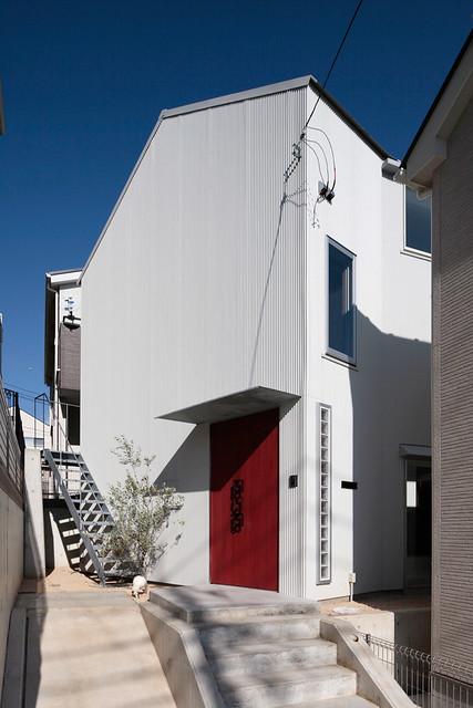 ondesign 建築師事務所 - 日本 House with Empty Lot 夫妻各住各的私人住宅