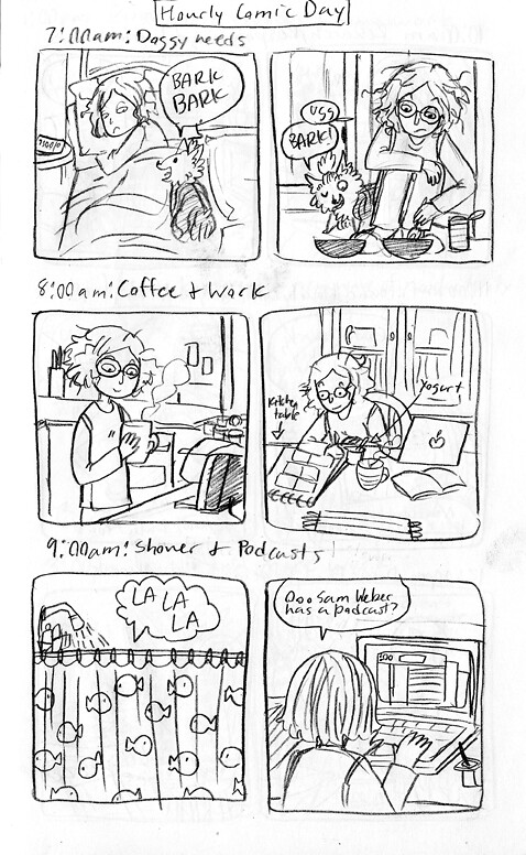 Hourly Comic 1