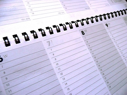 Business Calendar & Schedule -  Social Media This Holiday Season