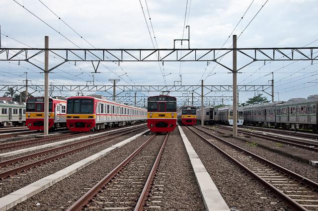 KCJ Seri203 dan Seri05 - 203系と05系