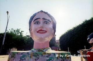 Zambrone (VV), 1990, I Giganti Mata e Grifone.