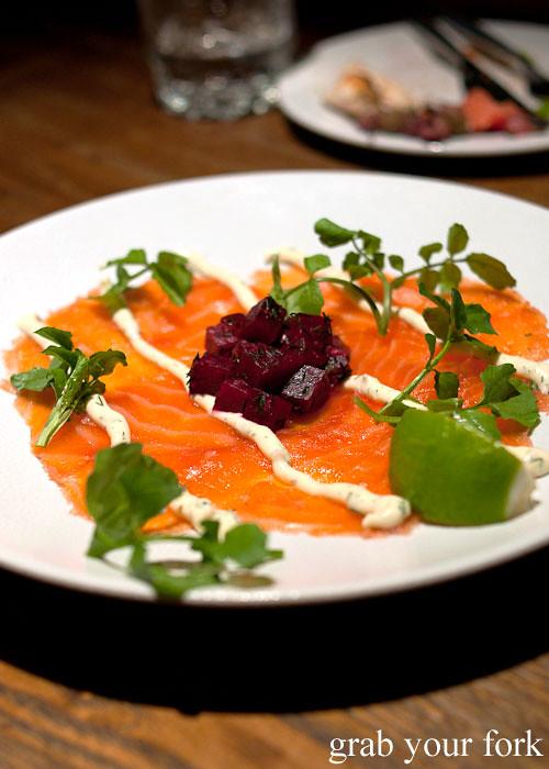 salmon hunky dory social club darlinghurst
