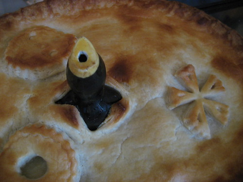 Snowflake pie