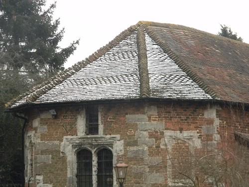 Frosty tiles