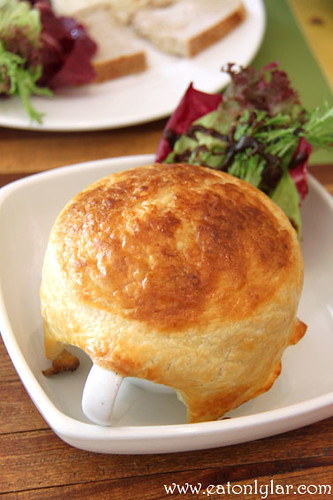 Chicken and Mushroom Pot Pie, Haven Café