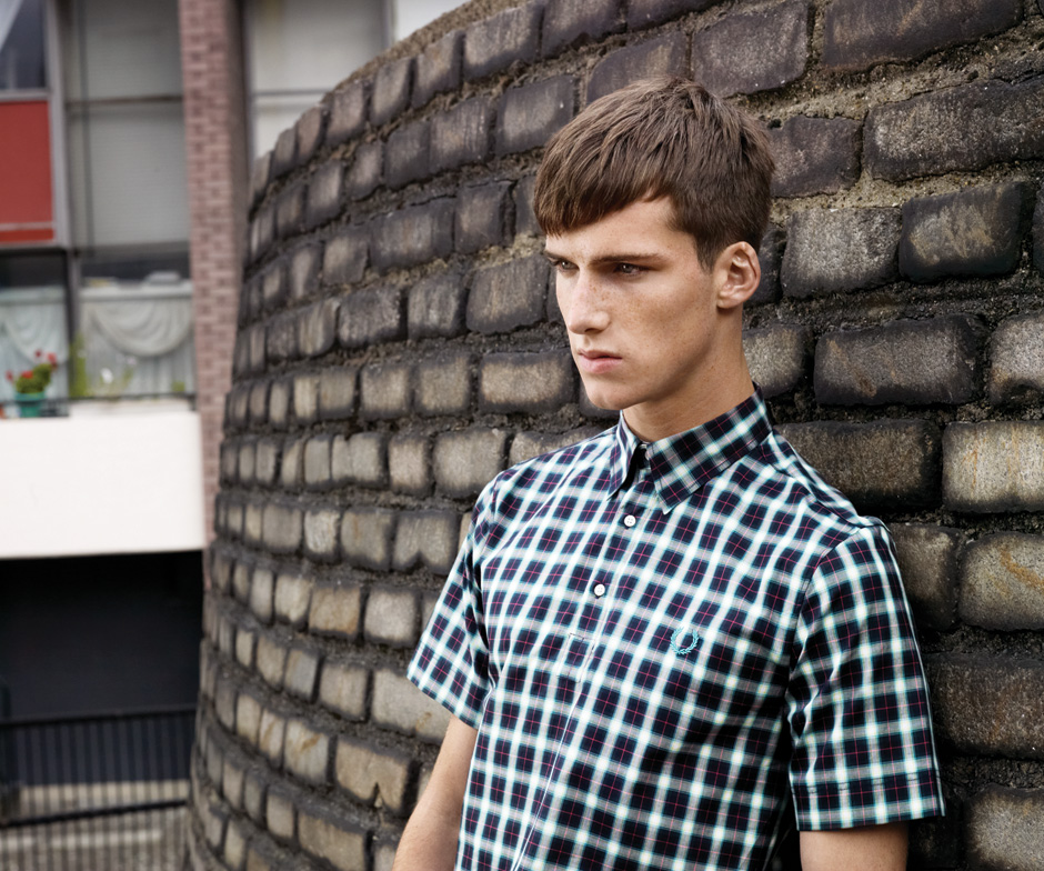 Johnny George0011_FRED PERRY SS12