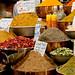 Piles of Spices at Shiraz Market - Iran