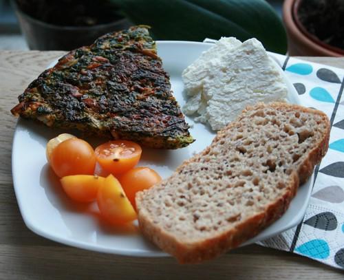 kookoo - persian herb frittata