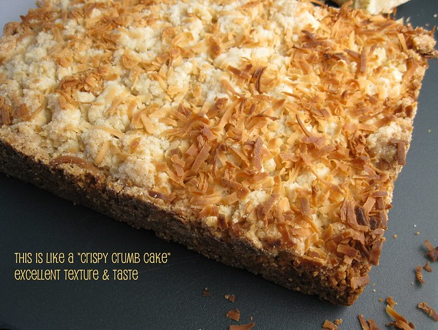 toasted coconut cream cheese bars 3