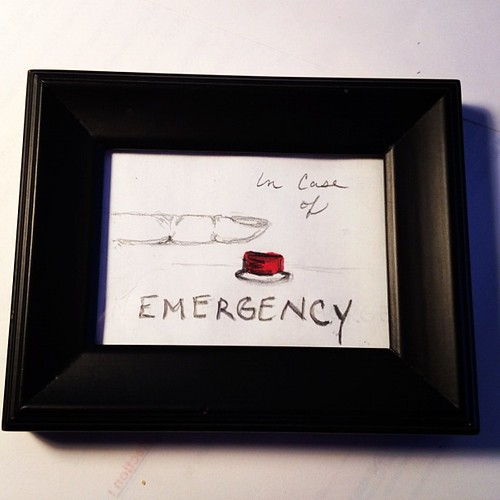 Day 8 (7): button - in case of emergency #febphotoaday