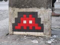 Space Invader : Paris 4eme