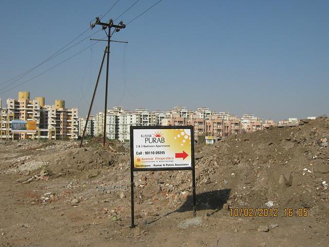 Magarpatta City - Visit Kumar Properties' Kumar Purab, 2 BHK & 3 BHK Flats, off Pune Solapur Road, behind Diamond Cars, Hadapsar, Pune 411 028