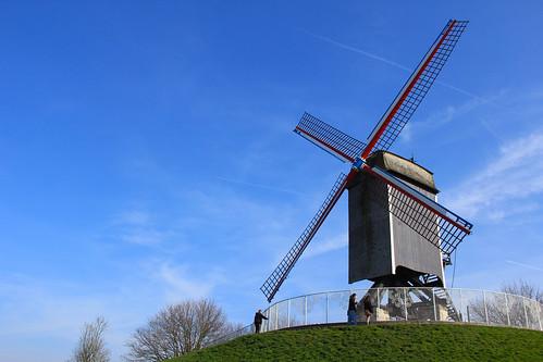 Windmill in Brugge