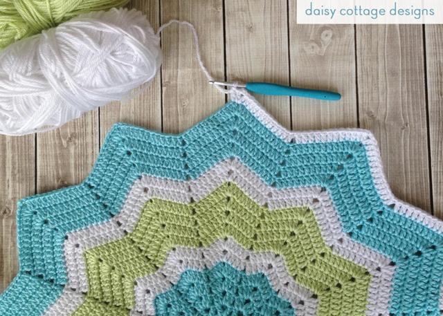 Crochet Star Baby Blanket {Work in Progress} - Daisy ...