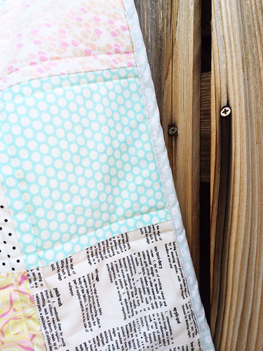 Sewing a Patchwork Baby Quilt