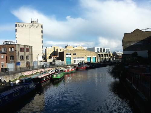 Canal in Hackney