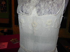 Original wedding dress of Mrs. Gurrad