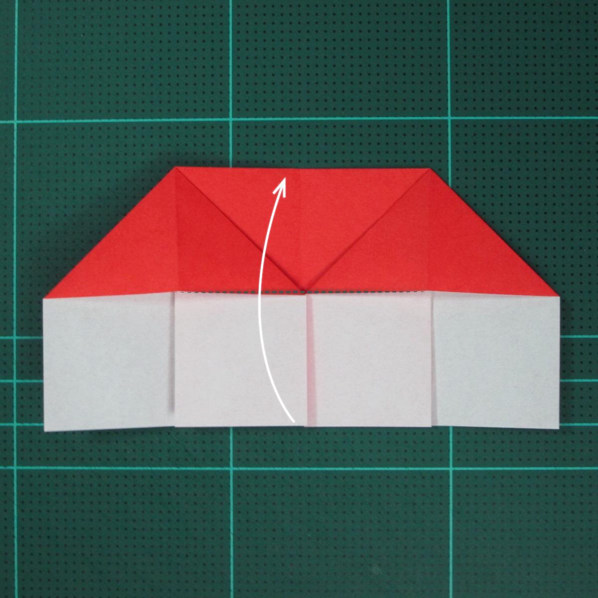 วิธีการพับกระดาษเป็นรูปเปียโน (Origami Piano) 008