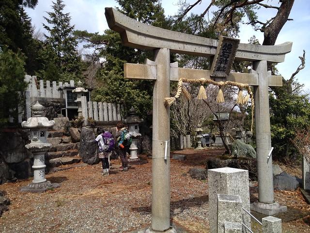 池田山 焼石神社