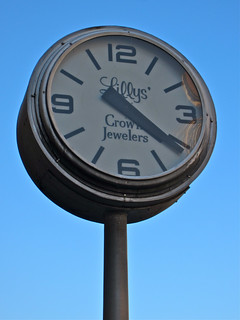 Street Clock, Morgantown, WV