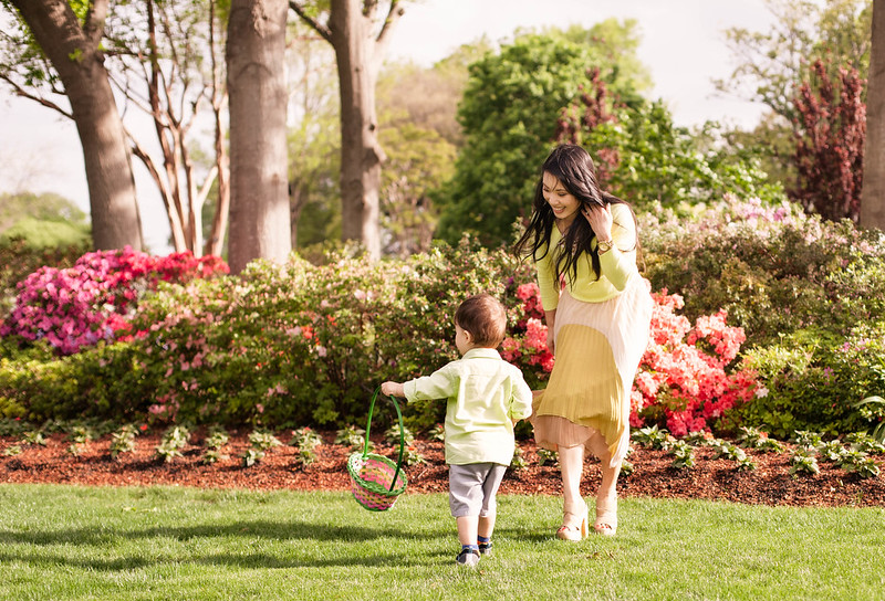 cute & little | easter 2014 | dallas arboretum easter egg hunt