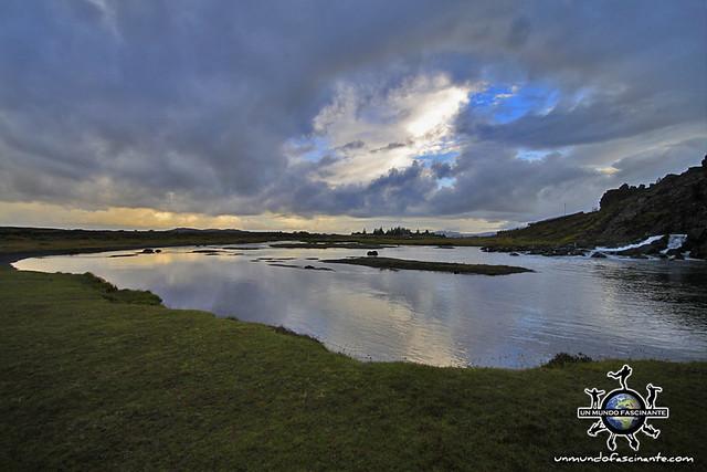 ISLANDIA - Thingvellir,  Þingvellir.