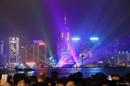 Hong Kong New Year Countdown Celebrations