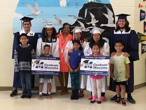 Graduate Marietta 2016 Seniors Visit MCS Schools