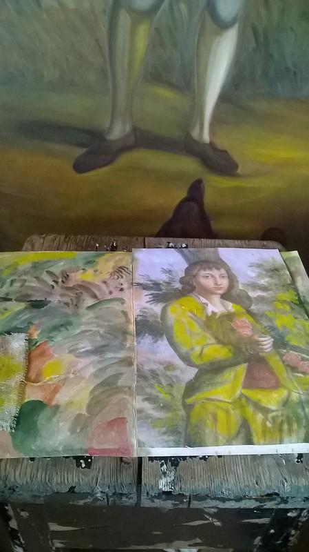 sketchbook Villa di Geggiano