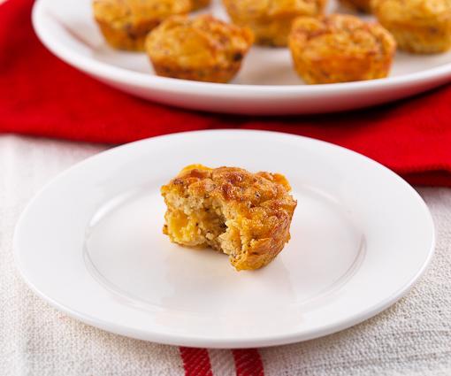 Chorizo Cheddar Potato Puffs