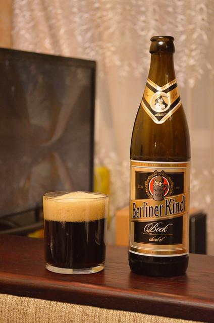 Немецкое пиво: Berliner Kindl Bock Dunkel