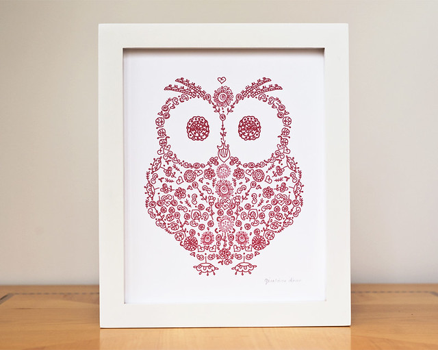 Owl Holiday Home Decor Flickr Photo Sharing