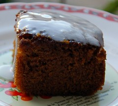 Ginger stout cake