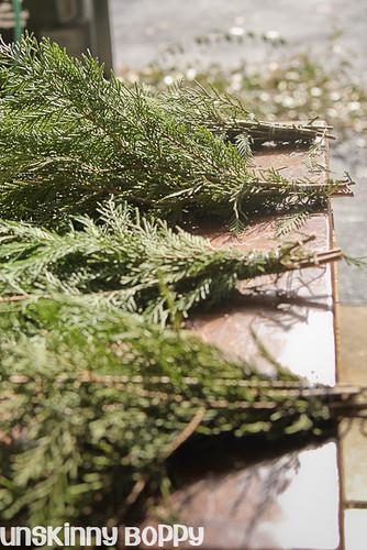 DIY Evergreen Christmas wreaths (5 of 16)