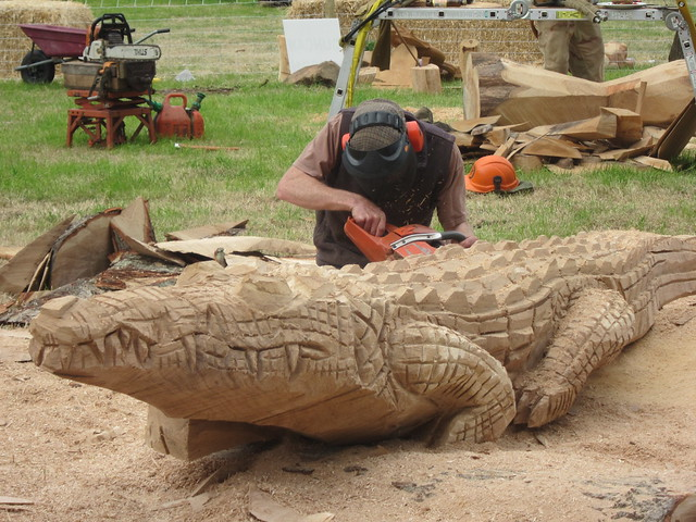 Honda Of Greeley >> Chainsaw Carving Artist Scott Dow Studio Carvings Care