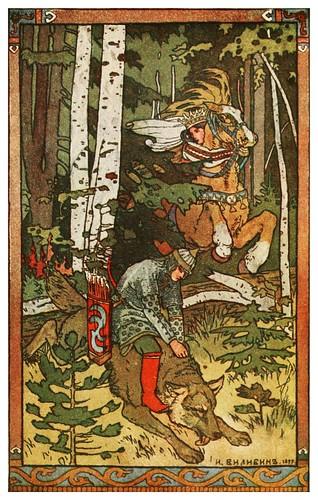 005-Tzarevich Ivan-Russian-wonder tales ..1912-Ivan Jakovlevich Bilibin