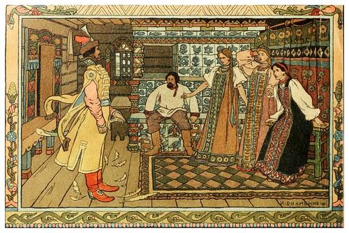 020-Maria Morevna 1901- Ivan Jakovlevich Bilibin