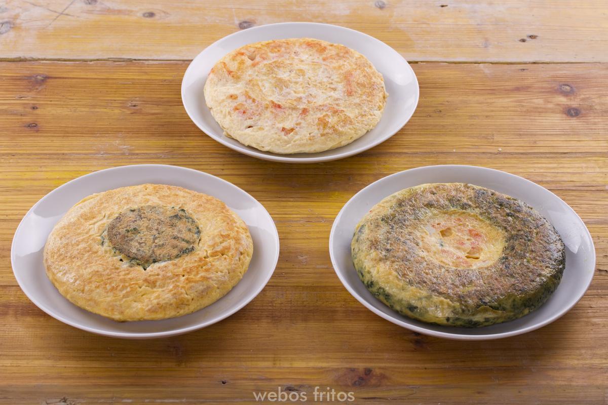 Tortillas para el pastel