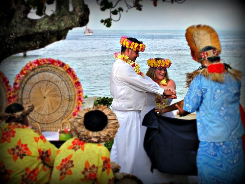 Tahitian wedding Ceremony