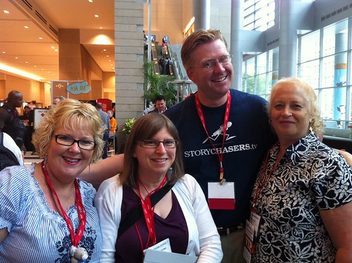 Some of our organizer team for the 2010 K-12 Online Conference