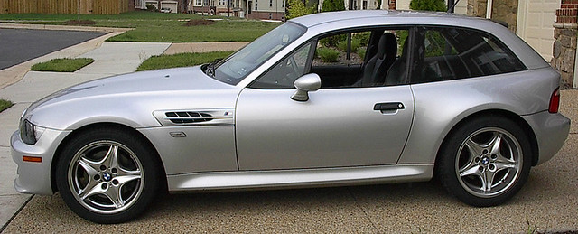 2000 z3 M Coupe | Titanium Silver | Black