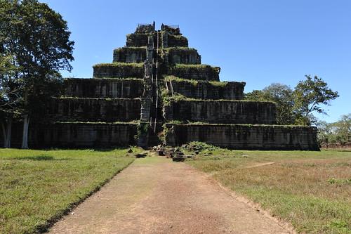 Kok Ker temple, Cambodia