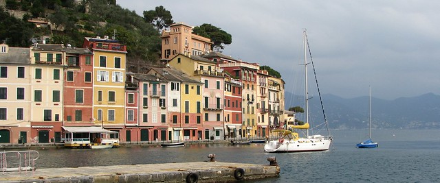 Portofino in winter