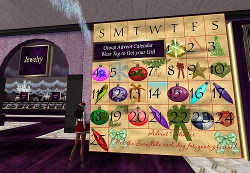 Virtual Impressions Advent Calendar by Cherokeeh Asteria
