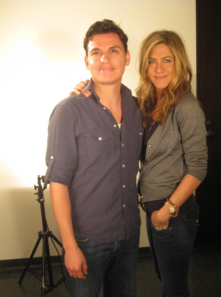 Jennifer Aniston, Andres Useche