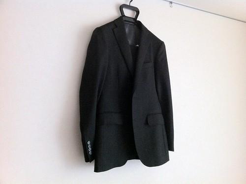 スーツカンパニーの略礼服(フォーマルスーツ)