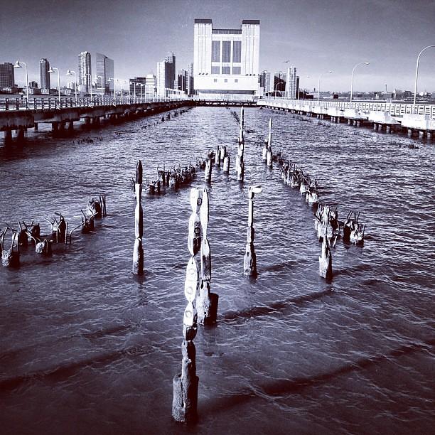 Pier on the Hudson #7