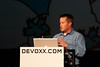 Matt Raible speaking at Devoxx Belgium 2011