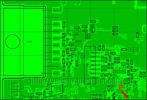 TM-271 PCB TOP DETAIL