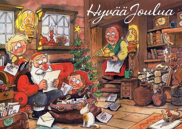Hyvää Joulua by Mauri Kunnas #27406
